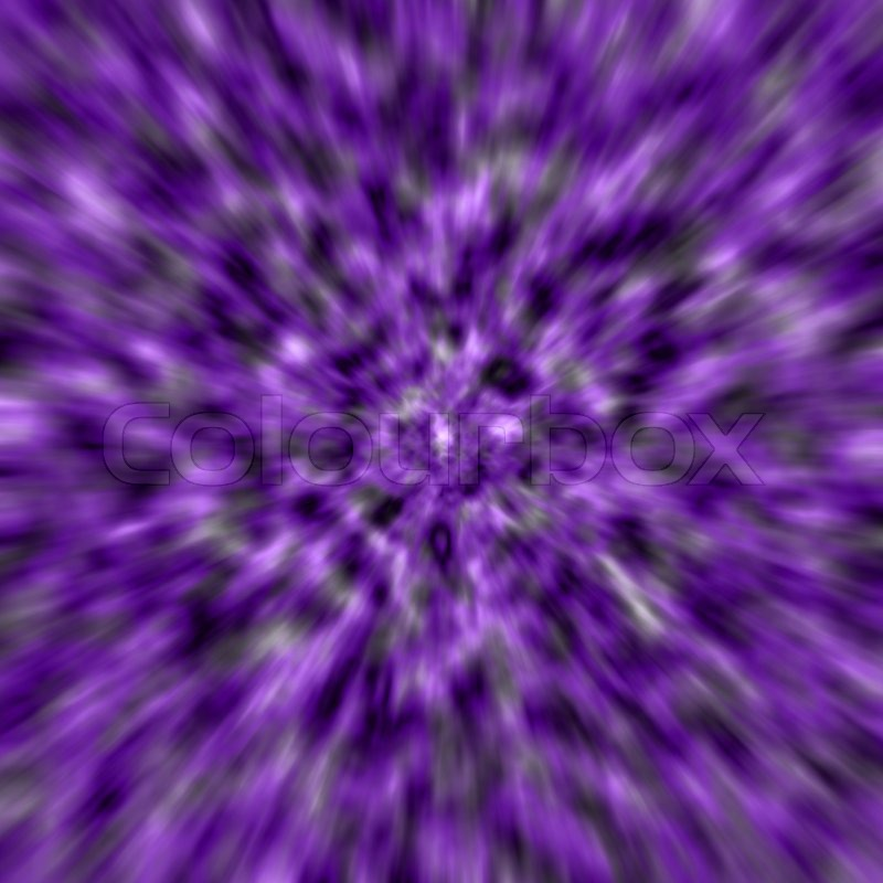 Purple Zoom Blur -abstract Background