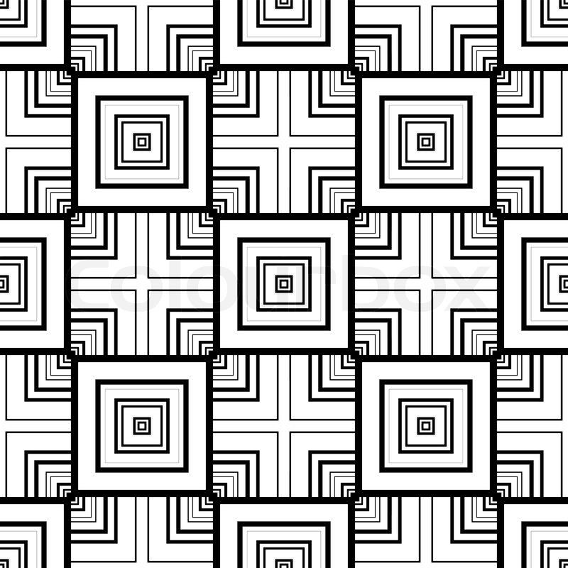 nahtlose geometrische muster stock vektor colourbox. Black Bedroom Furniture Sets. Home Design Ideas