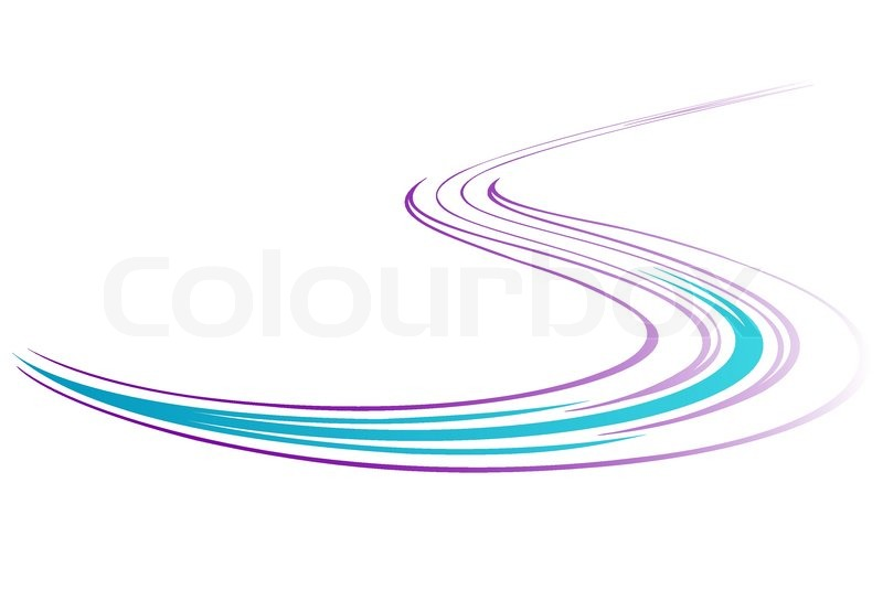 Line Art Movement : Movement lines stock vector colourbox
