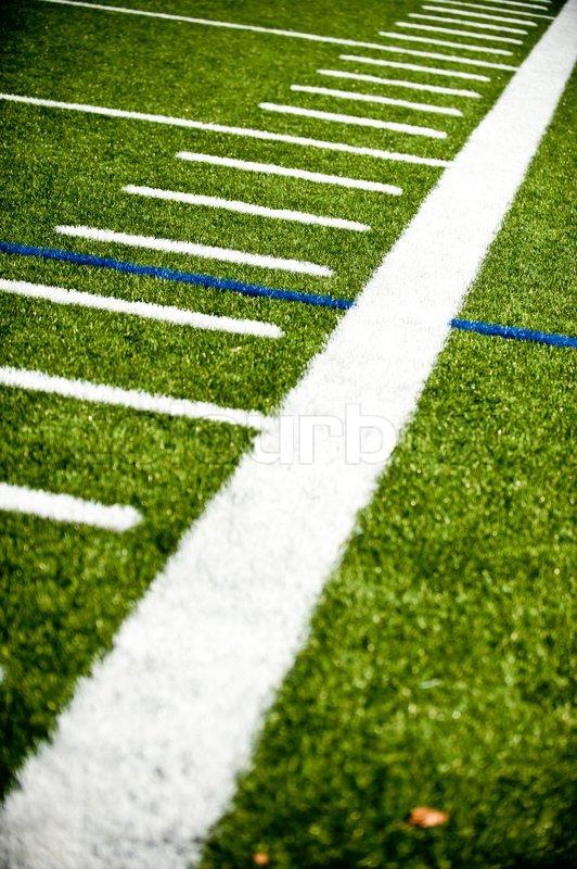 closeup of synthetic football field stock photo colourbox