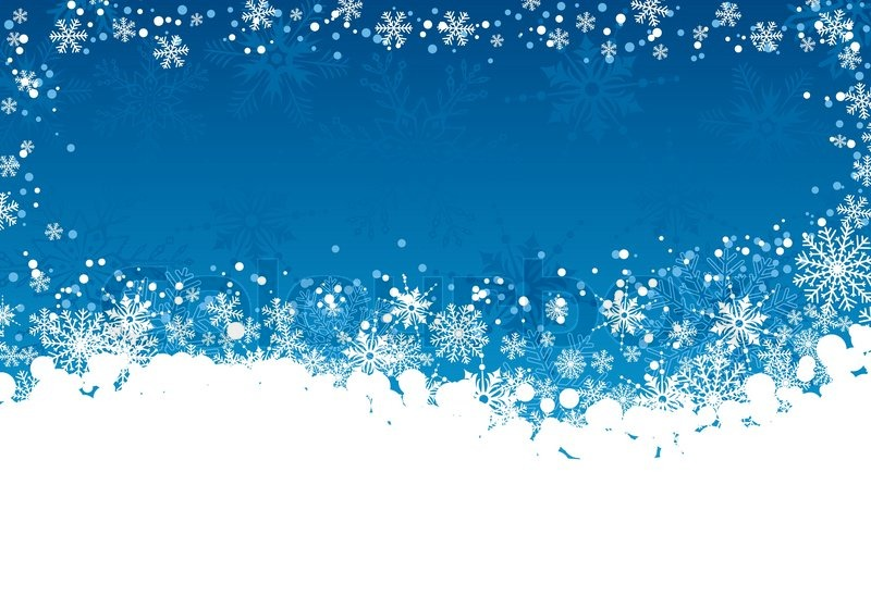 Winter Background Vector Free Vector Download 45 386 Free: Christmas Frame With Snowflakes, Element For Design