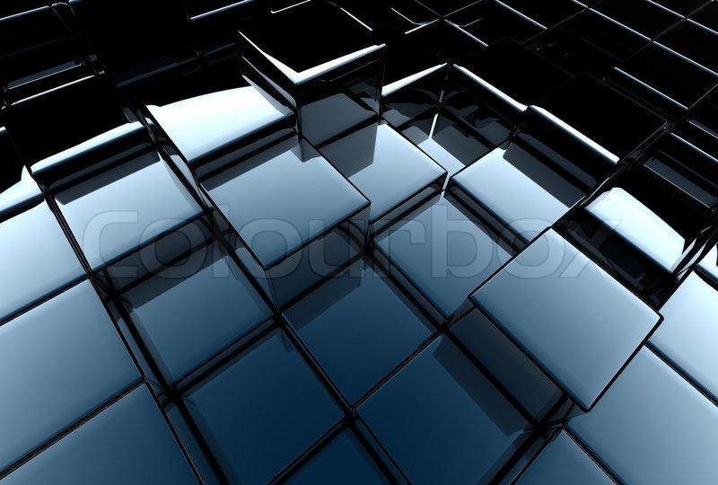 3D Darstellung Von Einem Abstrakten Hintergrund   Architektur | Stockfoto |  Colourbox