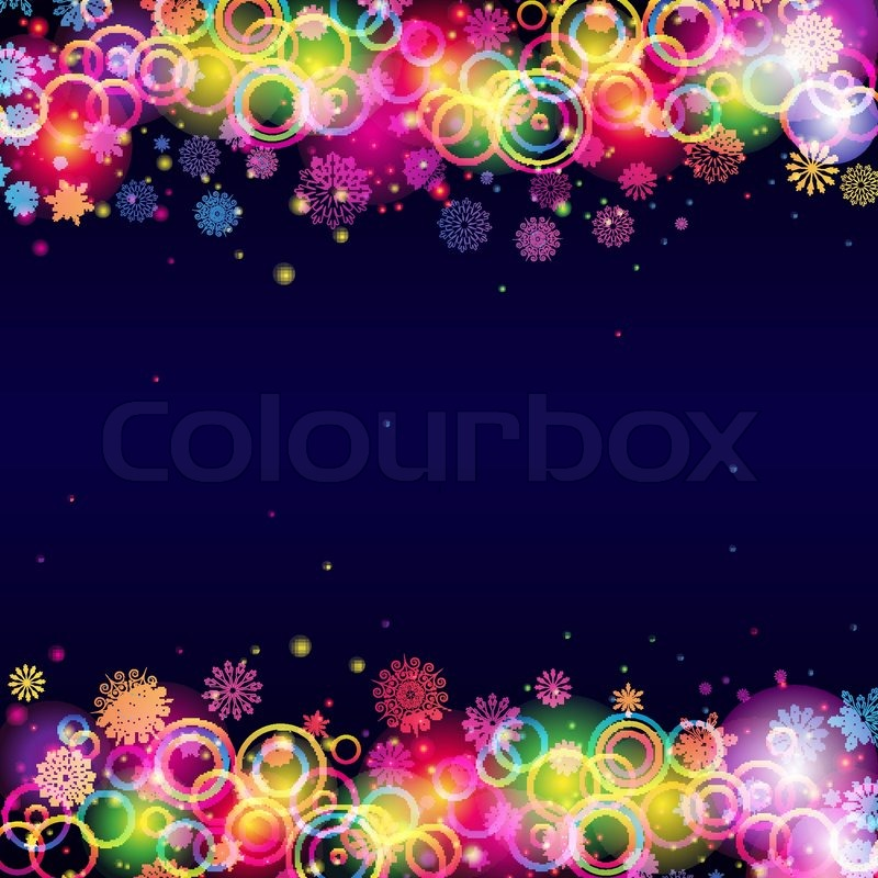 Abstract Christmas Background. | Vector | Colourbox