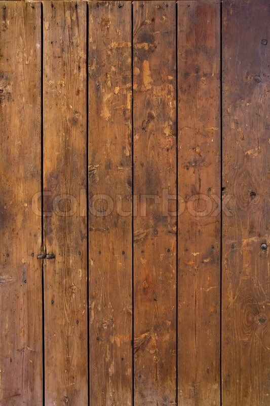 Plank Background Of Old Weathered Wood Stock Photo