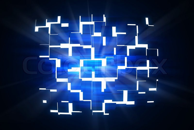 Abstract wall with rays of light stock photo colourbox aloadofball Image collections