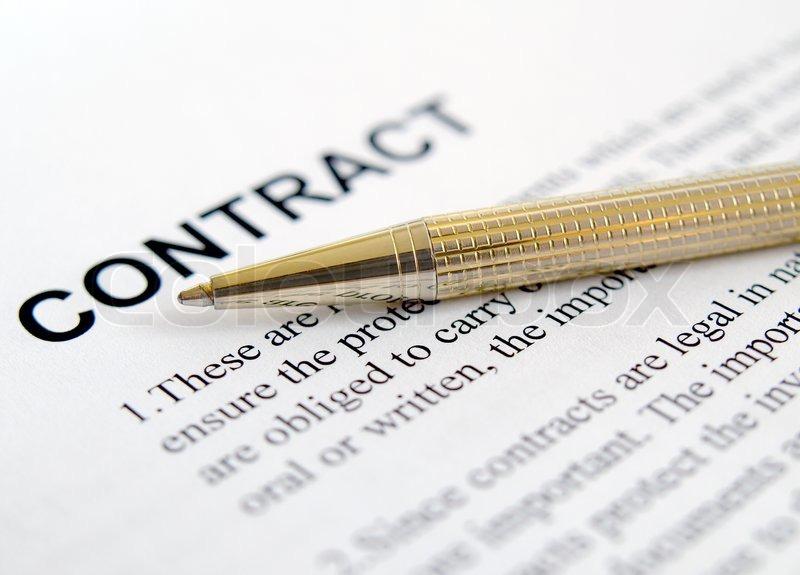 Vertrag Anwendung , Vereinbarung , Kugelschreiber, Geschäft ...