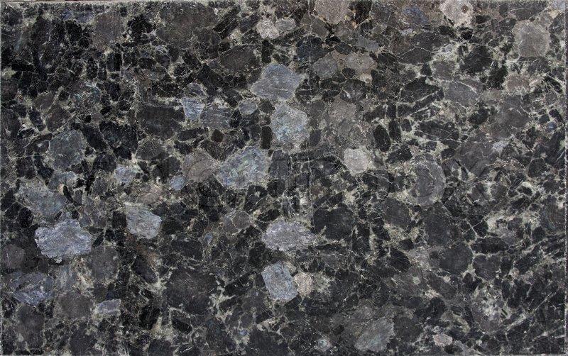 Schwarzer Granit Marmor Stockfoto Colourbox