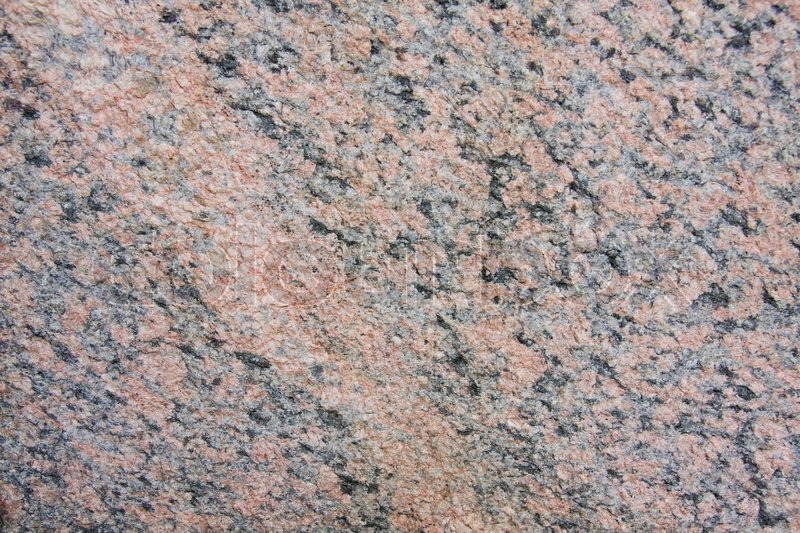 Naturliche Verwitterte Rosa Granit Stockfoto Colourbox