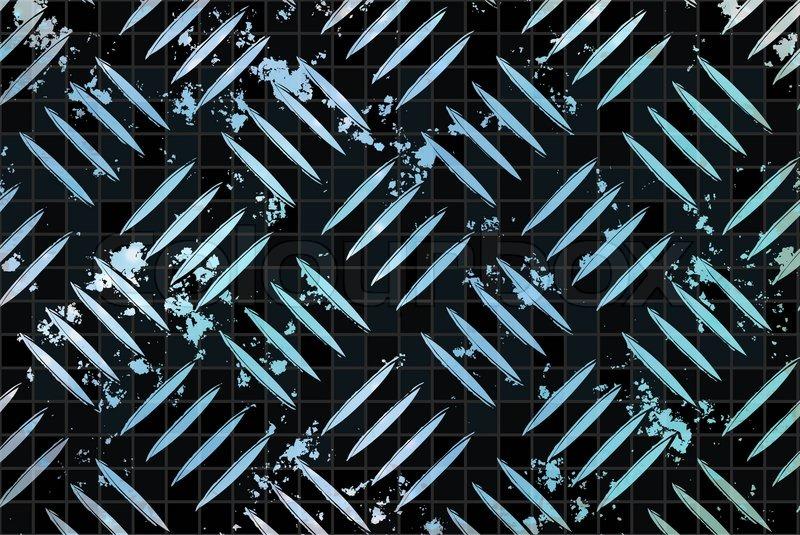 Diamond Plate Metal Texture - A Very ...