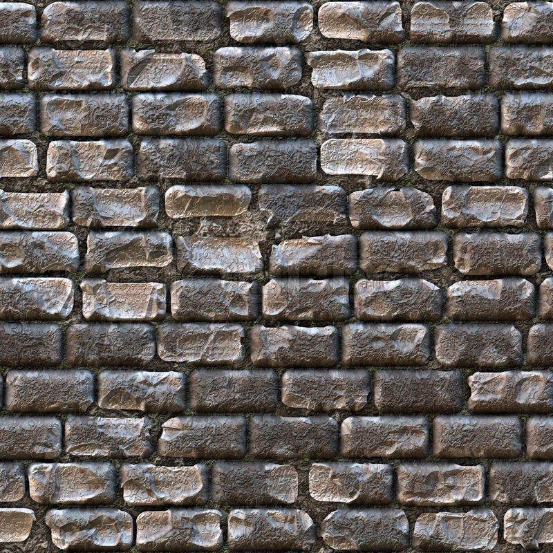 Seamless cobblestone path that works great for a a wall or ...