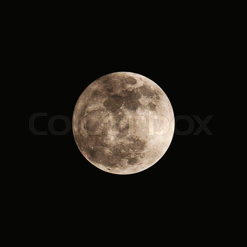 Super moon, Full moon, stock photo