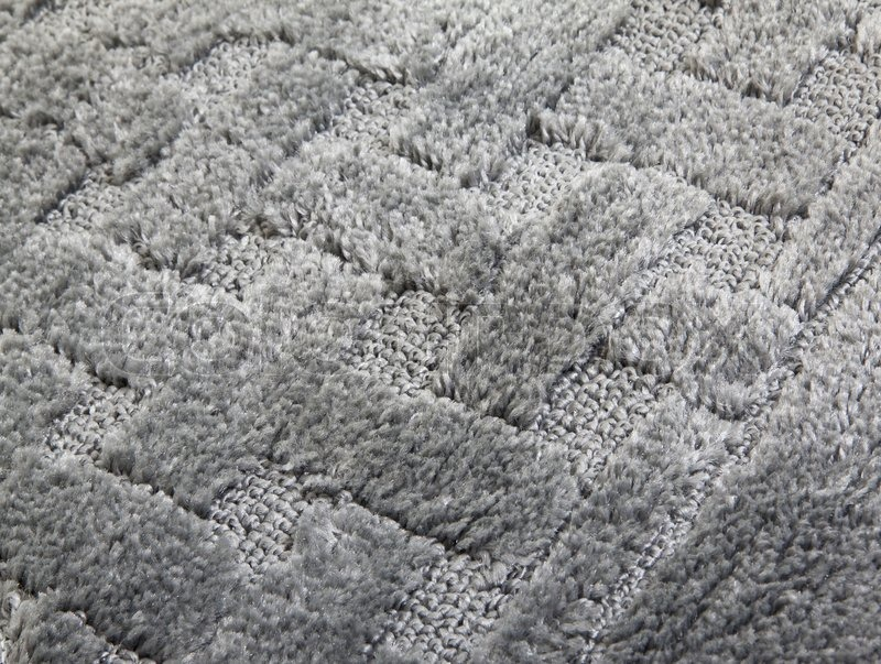 Gray Carpet Background Close Up For You Stock Photo