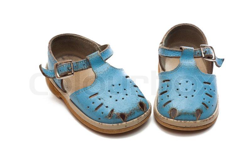 Little Kid Worn Shoes