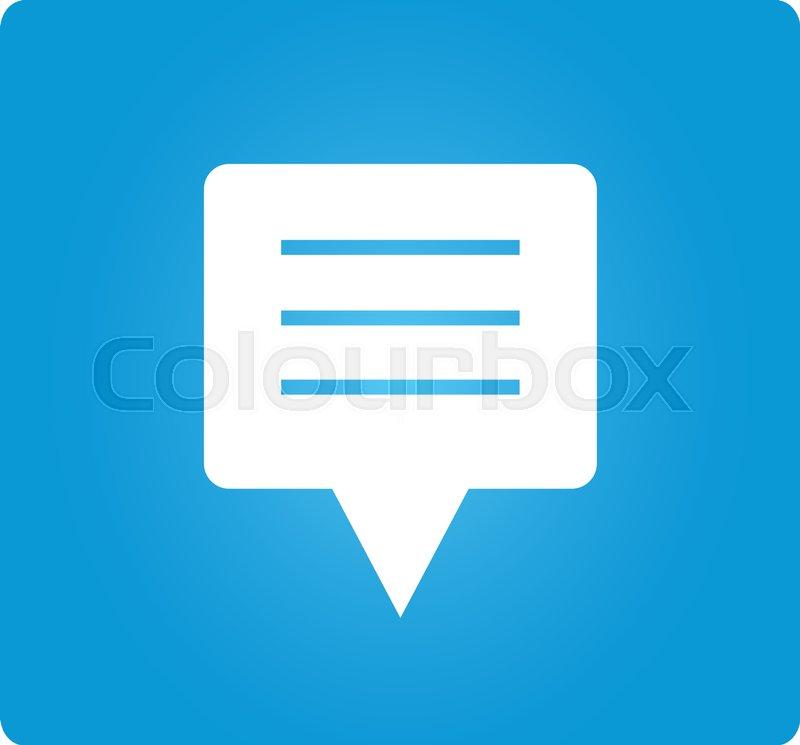 message alert vector
