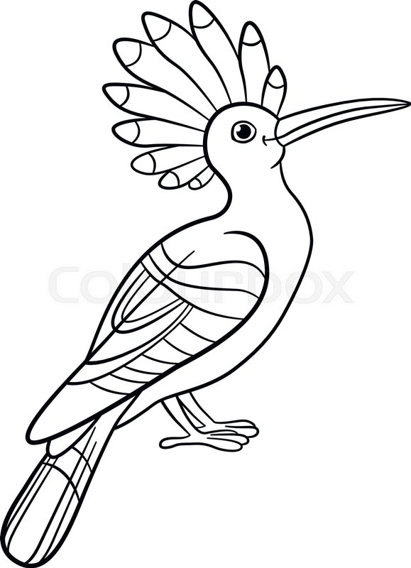 Coloring pages Cute beautiful