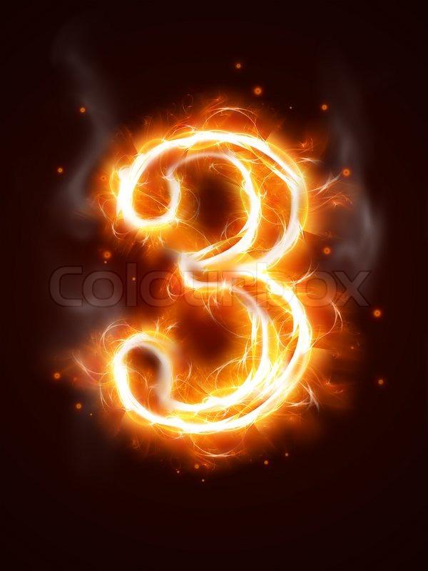 fiery number 3