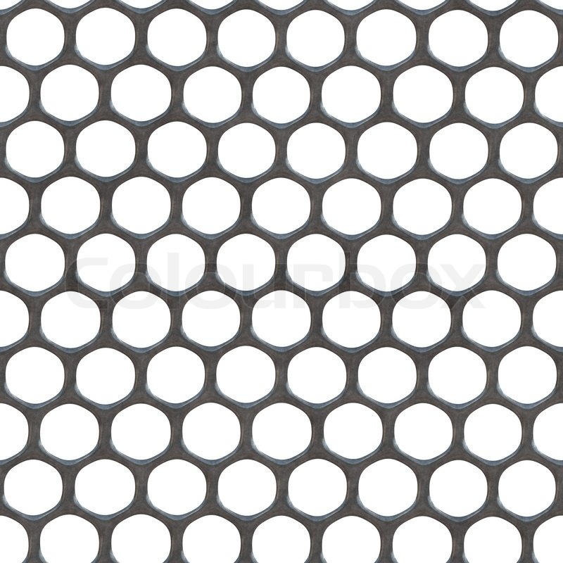 Brushed Aluminum Mesh Material That Tiles Seamlessly As A