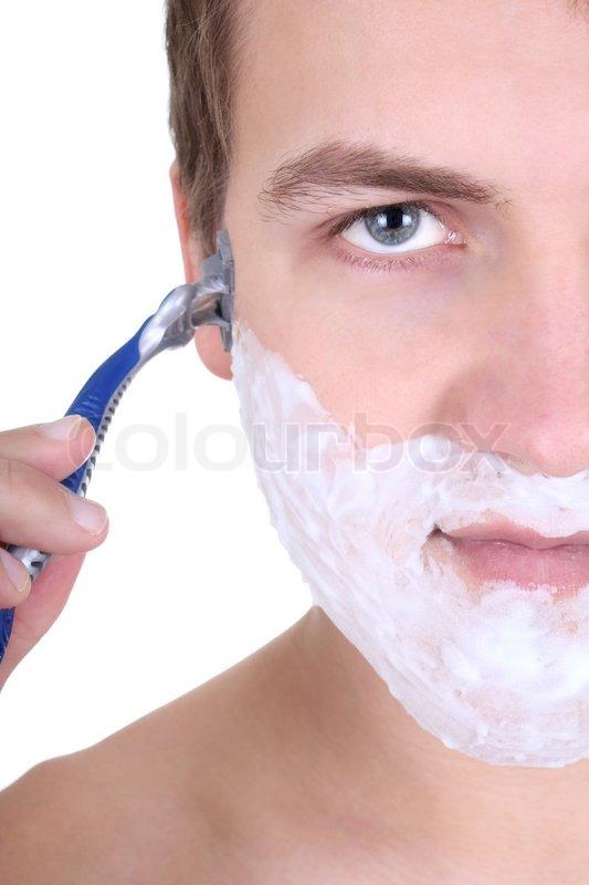 barbering med skraber