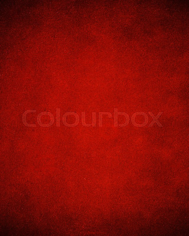 Game Table Felt Background In Red Color, Stock Photo