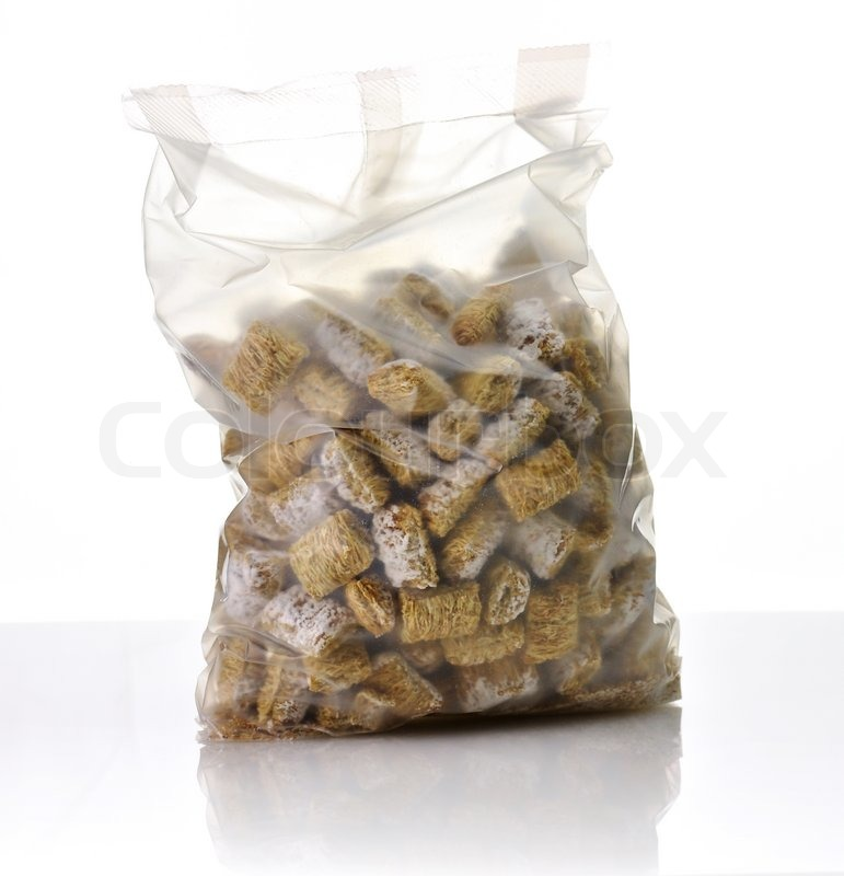 Shredded Wheat Cereal in a bag | Stock Photo | Colourbox