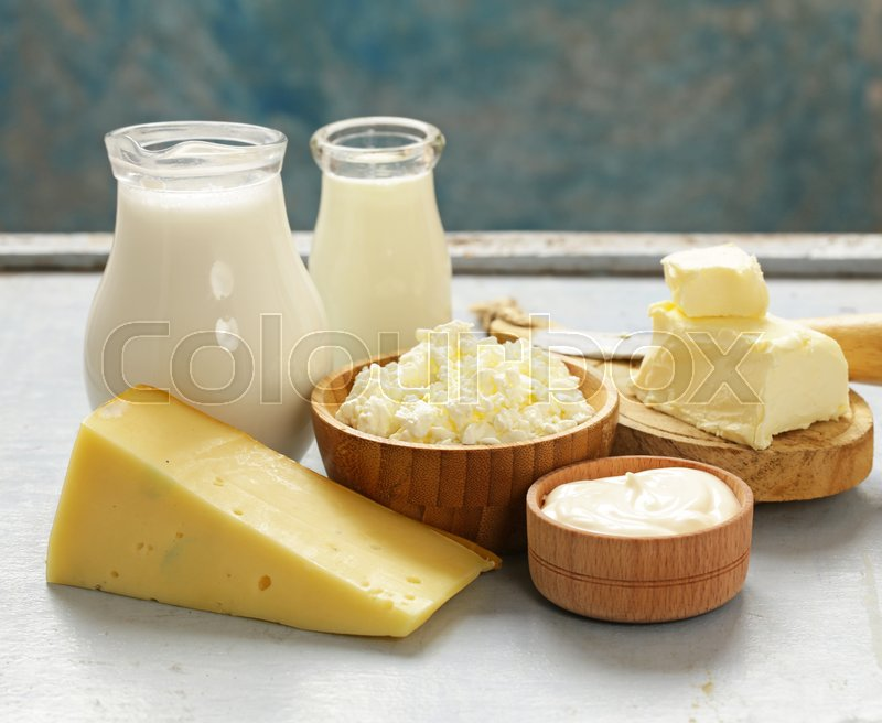 Assorted Dairy Products (milk, Yogurt, ...
