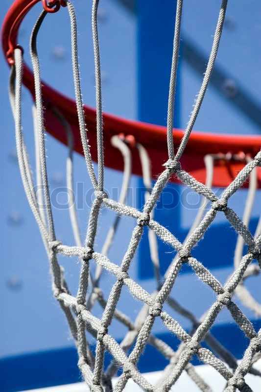 how to put up a basketball net