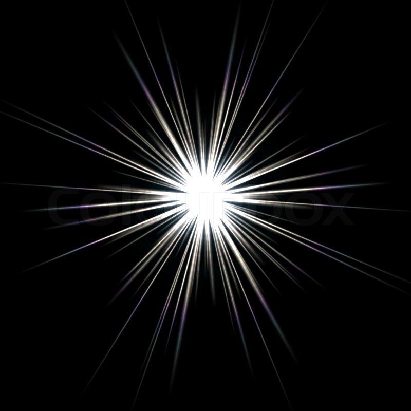 a bright solar flare over a black background stock photo colourbox sun ray vector background sun ray vector photoshop