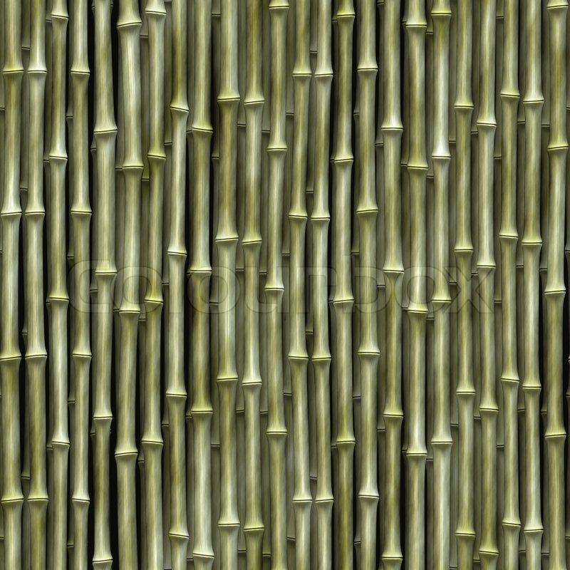 Seamless Bamboo Pattern Seamless Bamboo Poles Texture