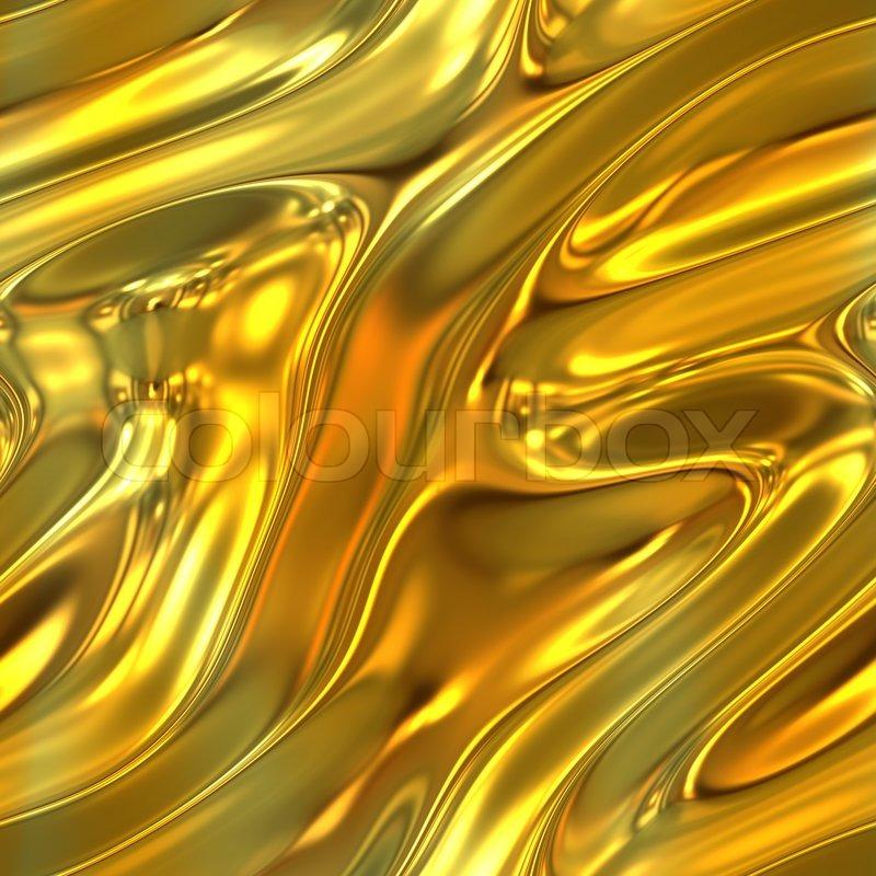 Gold Liquid Dye : Ein geschmolzenes gold flüssige textur die fliesen
