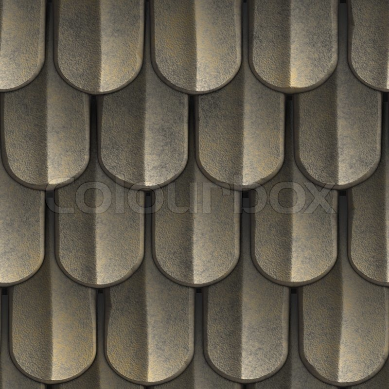 A Texture That Looks Like Scales Of Armor Or Even Tiled
