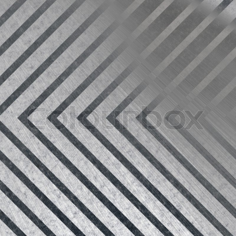 Beibehang Large Custom Wall Paper Cool Metal Texture: Hazard Stripe Brushed Metal Texture With Reflective