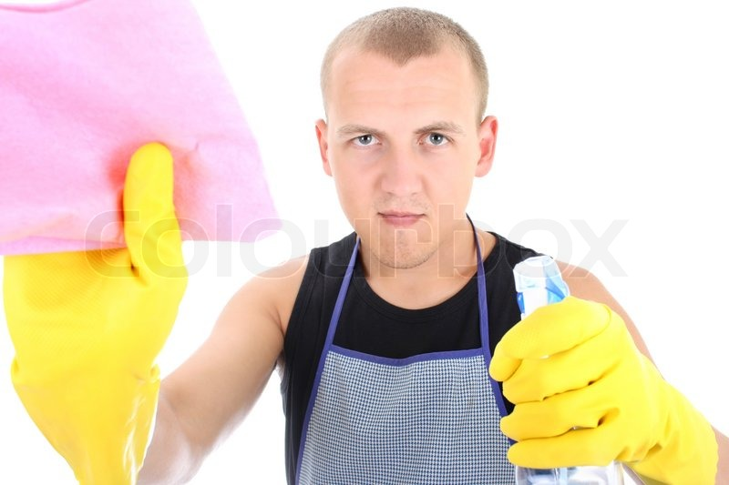 Men Cleaning Submited Images Pic2Fly