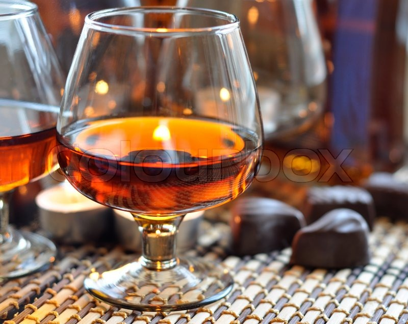 Brandy Glass a Glass of Brandy