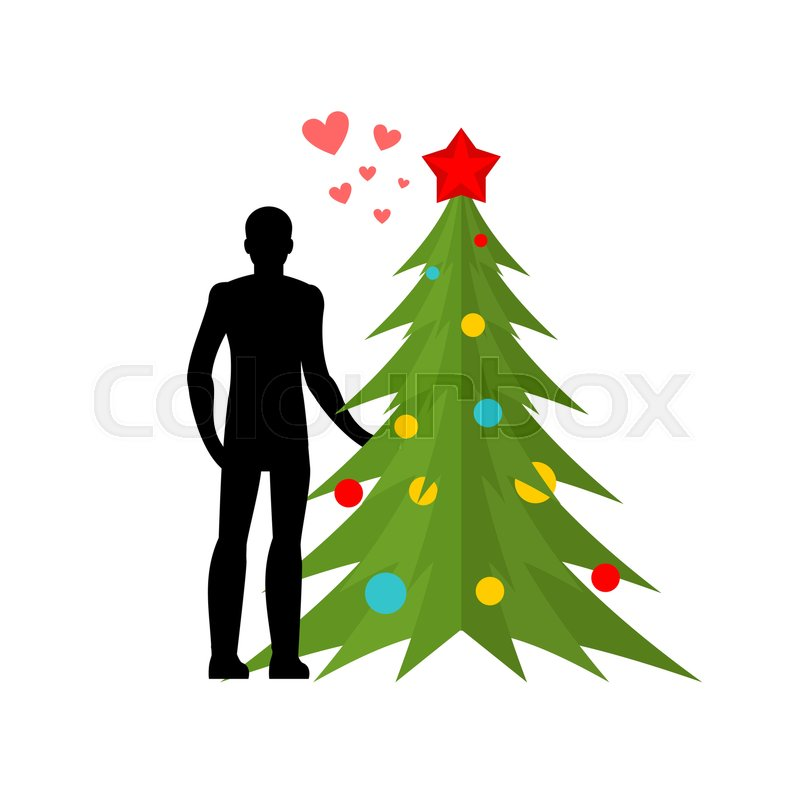 Lovers christmas tree