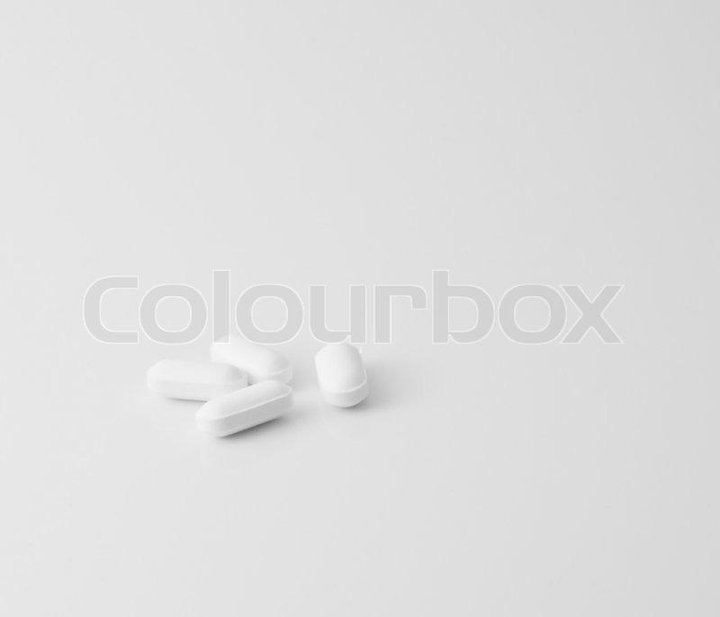 Watson white oval pill