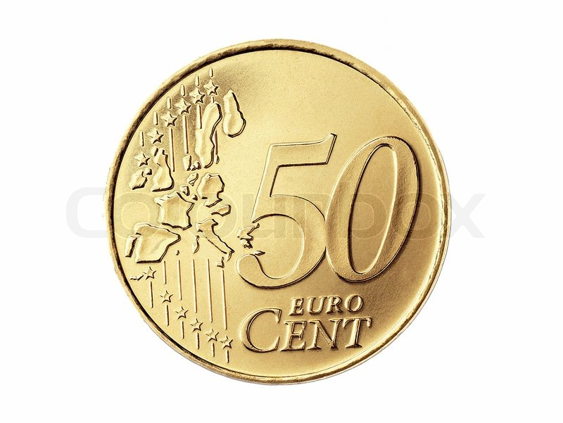 50 euro cent isolated on a white background stock photo for Sessel 50 euro