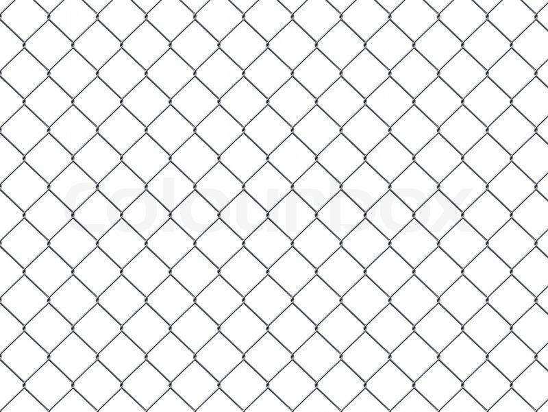 Iron wire fence   Stock Photo   Colourbox