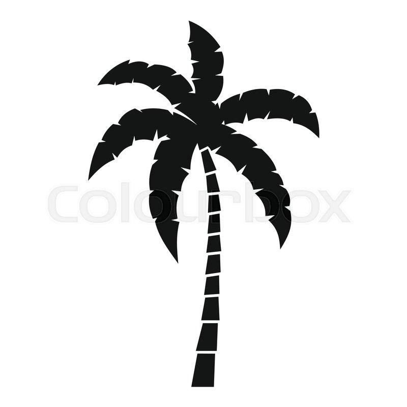 palm tree icon simple illustration of palm tree vector icon for web rh colourbox com palm tree vector image palm tree vector silhouette