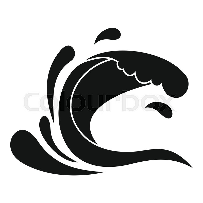 water wave splash icon simple illustration of water wave storm cloud clipart stormy cloud clip art