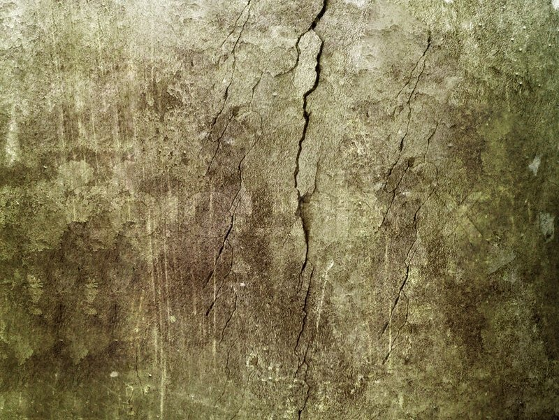 Cracked wall green grunge background and texture stock - Metallic farbe wand ...