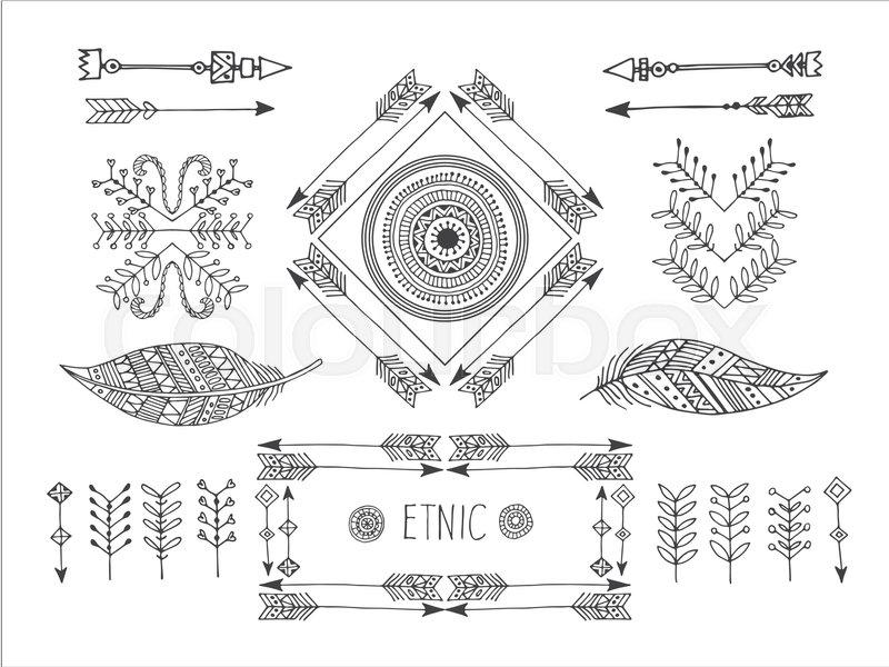 4e704796b76 Set of creative Boho style Frames mady by Ethnic.