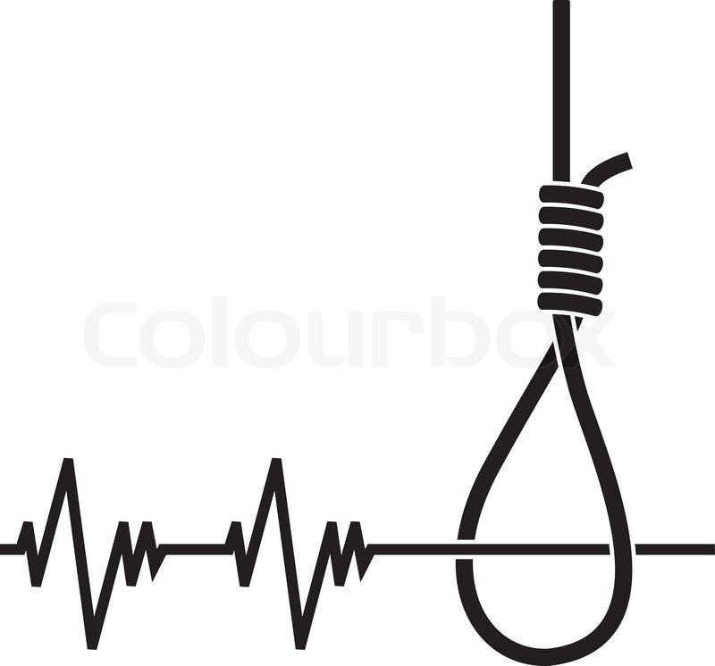 Depression Stencil Vector Illustration For Design Stock Vector