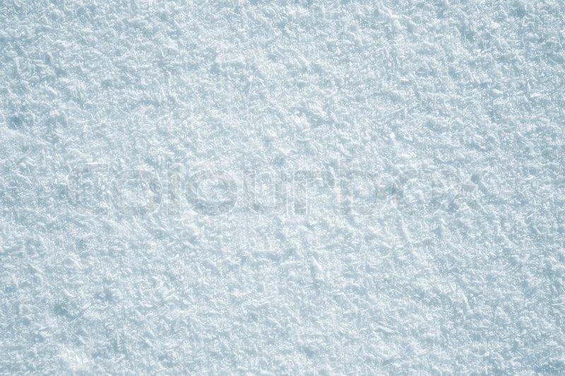 Schnee Hintergrund Ein...
