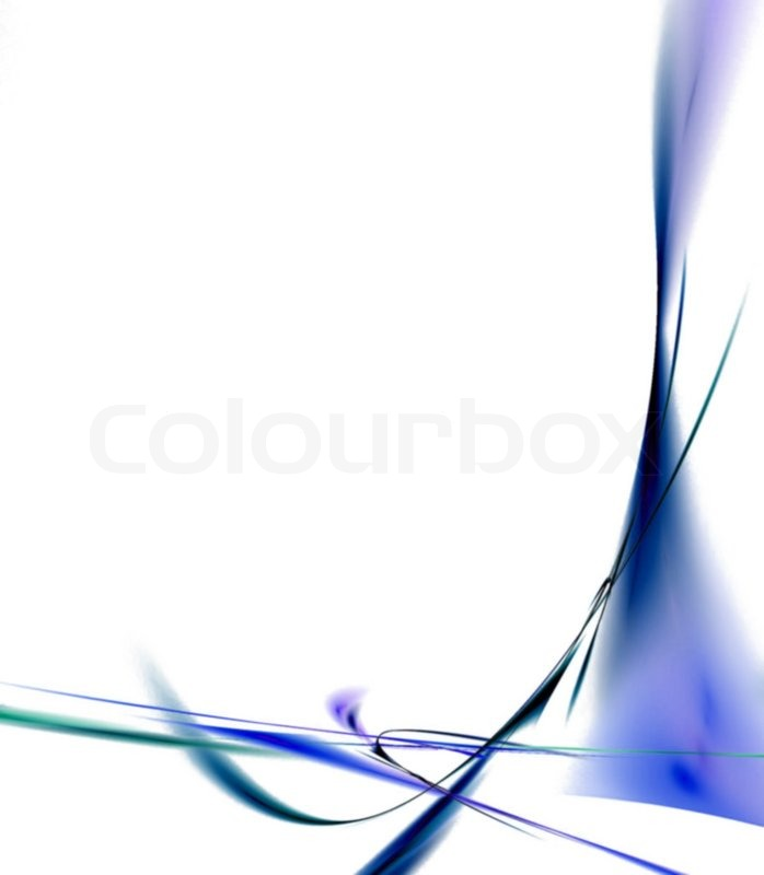 A Cool Background Border With 3d Abstract Lines