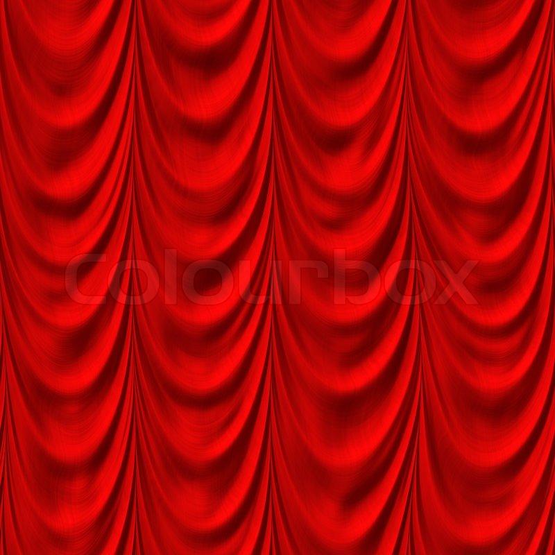 det røde gardin Røde gardiner | stock foto | Colourbox det røde gardin