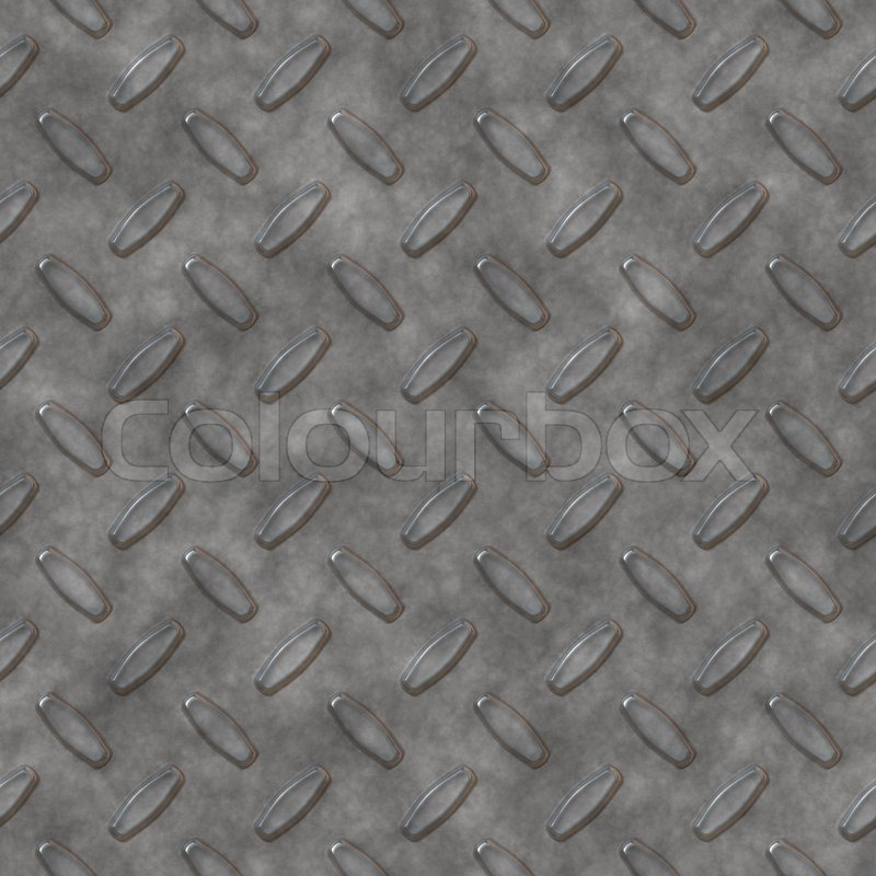 Steel Diamond Plate Pattern You Can Tile This Seamlessly