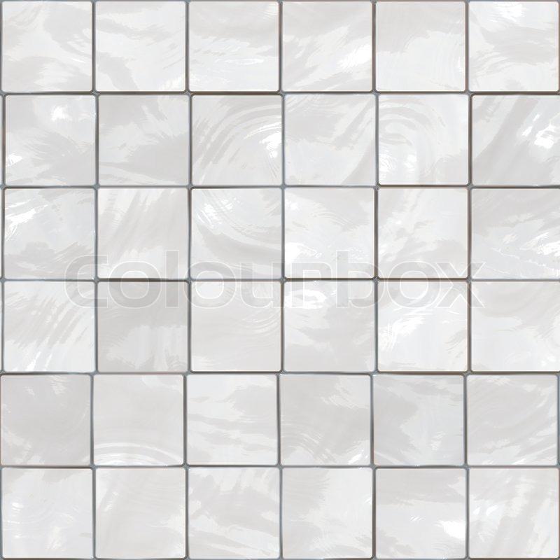 Weiße Fliesen im Bad Hintergrund - ... | Stock Bild | Colourbox