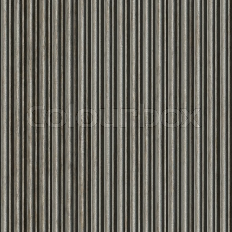 A Corrugated Metal Texture That Tiles Seamlessly As A