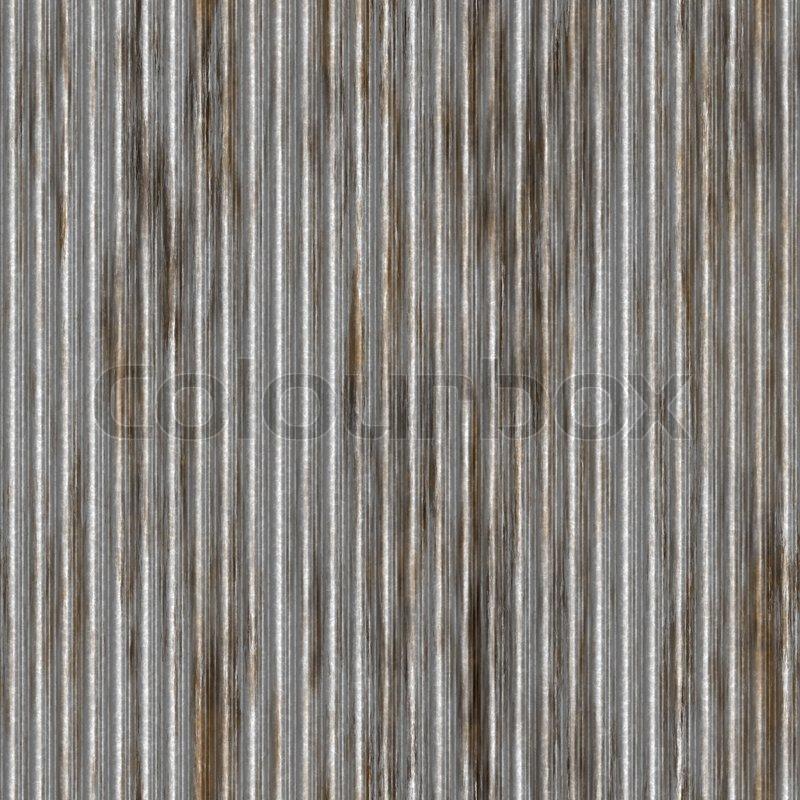 ein wellblech textur mit rost fliesen nahtlos als ein muster einer gro en hintergrund oder. Black Bedroom Furniture Sets. Home Design Ideas