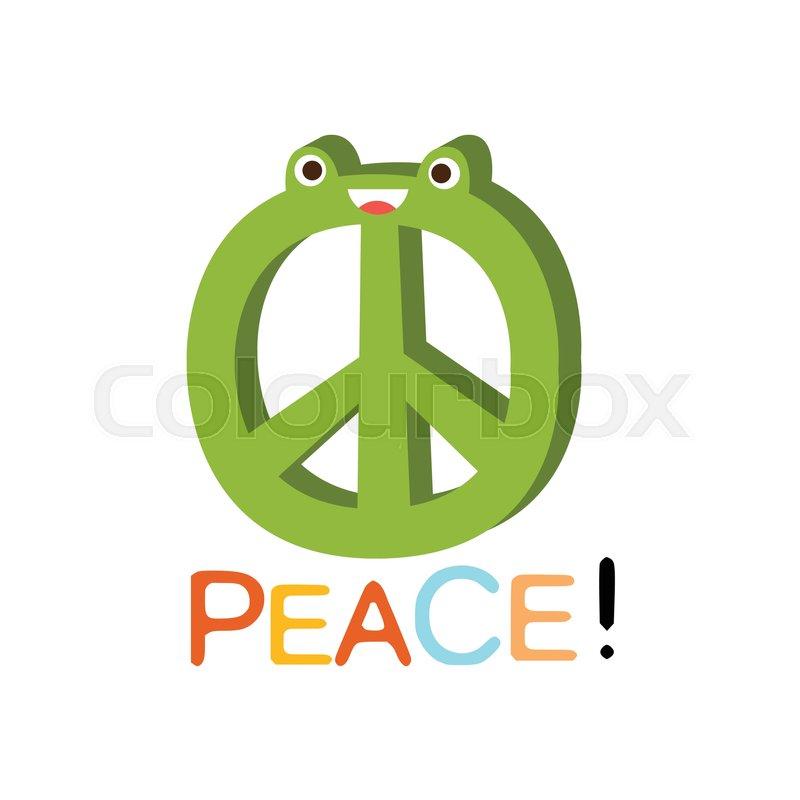 Peace Word And Corresponding     | Stock vector | Colourbox